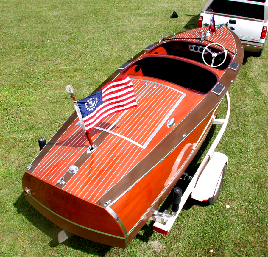 1938 19' Chris Craft Custom Runabout