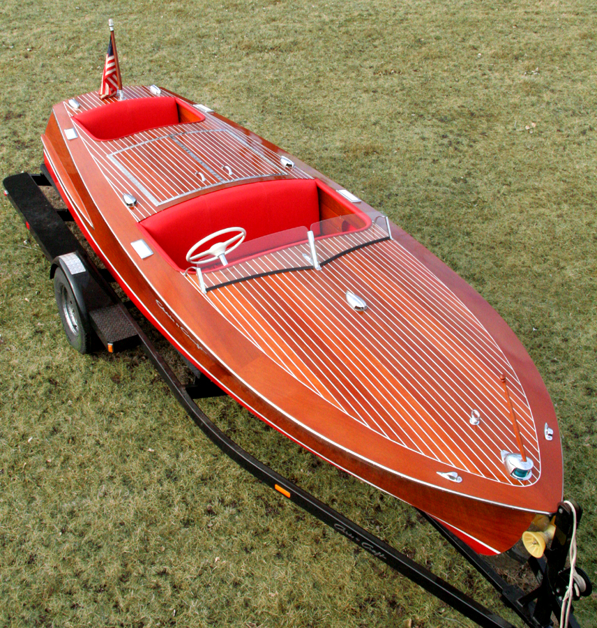 Classic Boats 1954 19 Chris Craft Racing Runabout