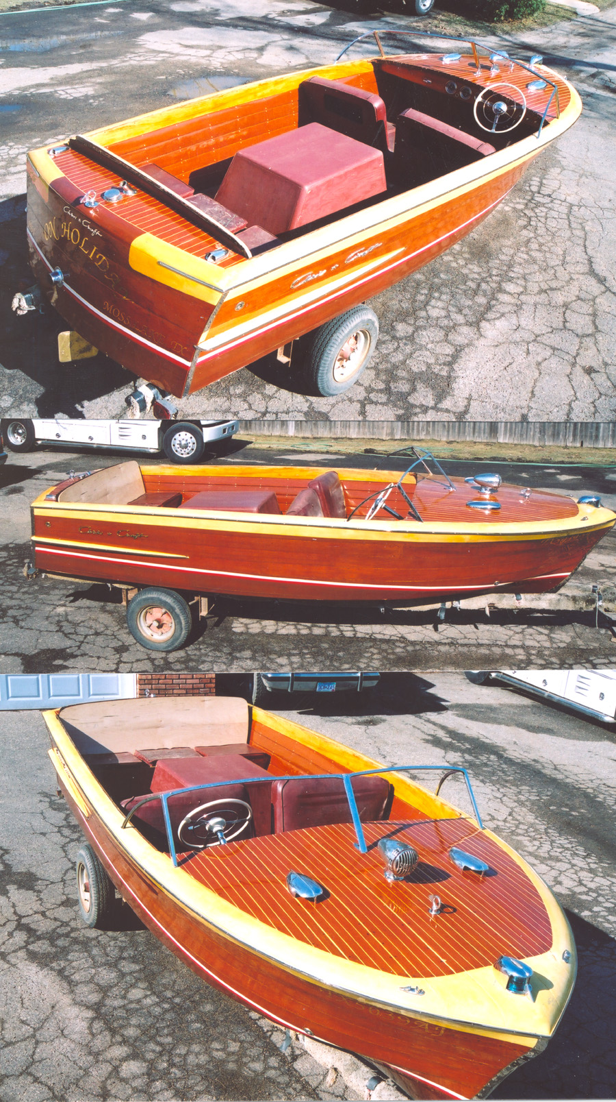 1953 19' Chris Craft Holiday for sale