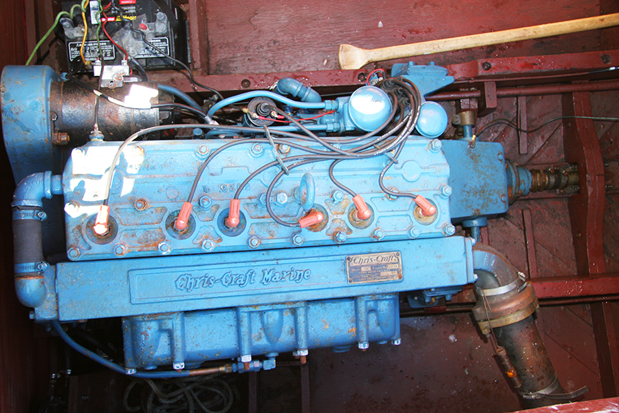 Chris Craft MBL 158 hp engine
