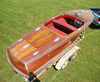 1946 20' Chris-Craft Custom Runabout Classic Wooden Boat