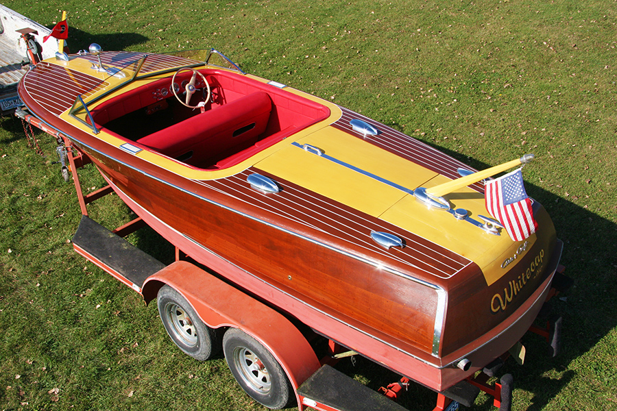 20' Chris Craft Custom Runabout