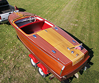 Classic Boats For Sale - 20 ft Chris Craft Riviera