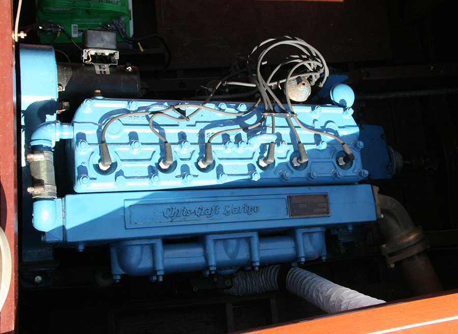 Chris Craft 6-cylinder MBL engine. 158 H.P.