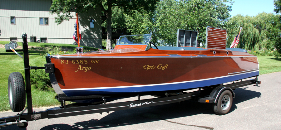 Antique Mahogany Runabout
