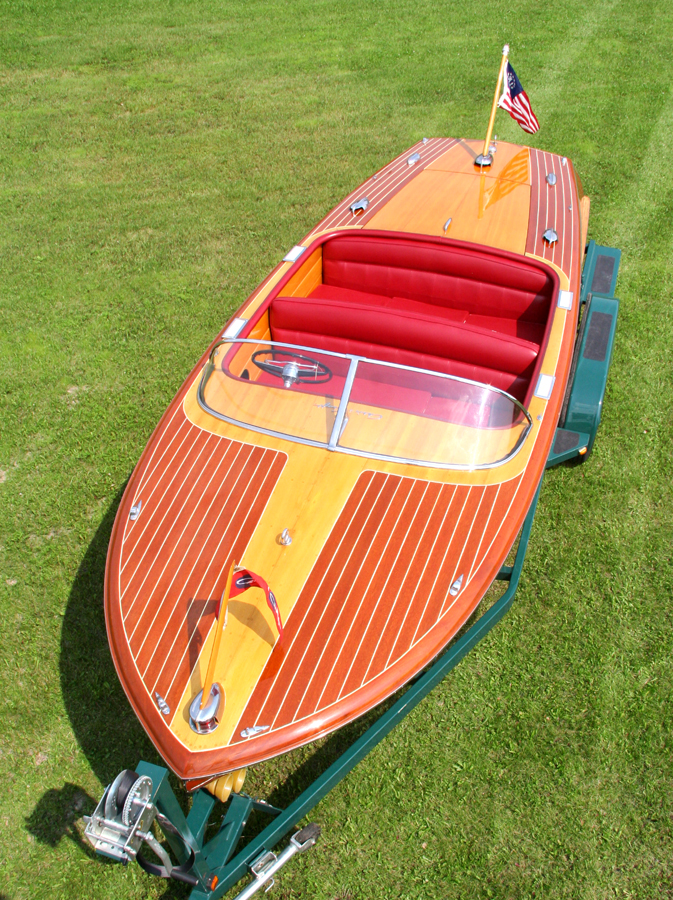 1955 21' Chris Craft Capri Runabout for Sale