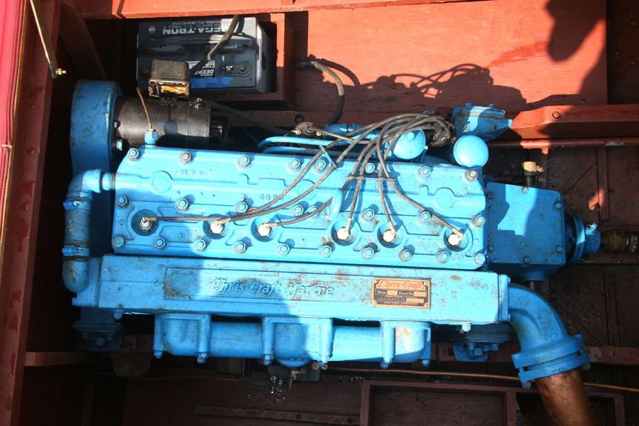 Chris Craft MBL 6 cylinder engine
