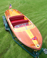 21' Chris Craft Capri Runabout Wooden Boat