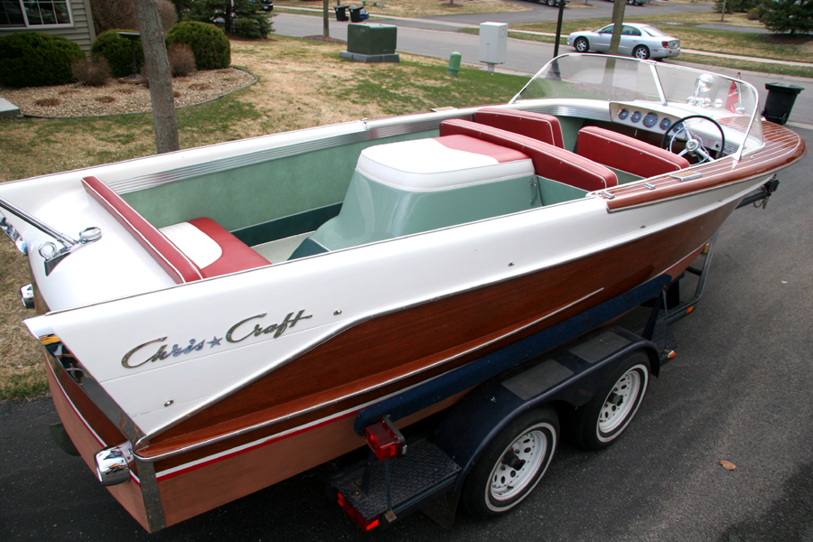 1959 21 39 chris craft continental for Chris craft boat restoration