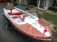 1959 21' Chris Craft Continental with 3rd seat