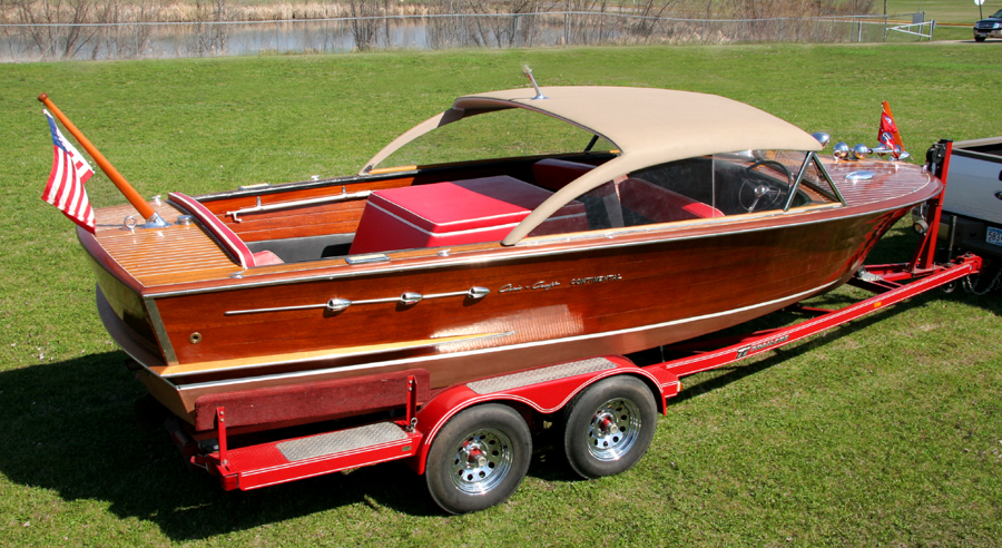 Chris Craft 22' Continental Hardtop for sale