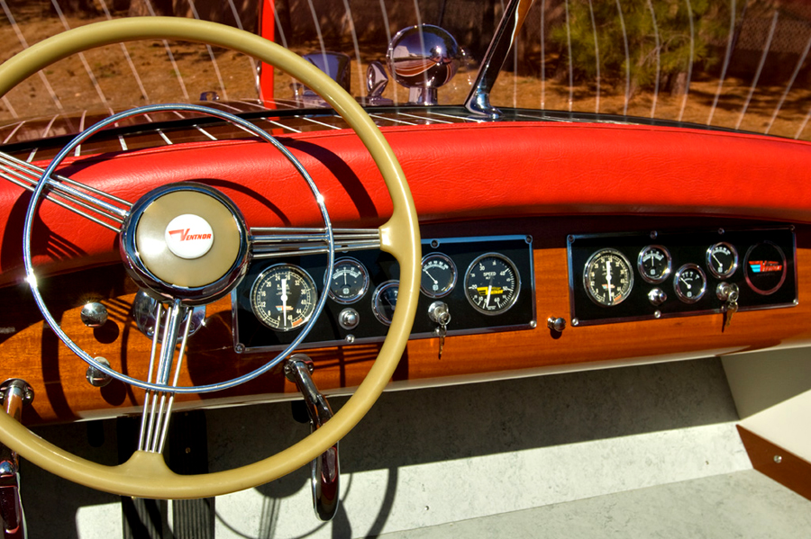 1948 23' Ventnor dash board