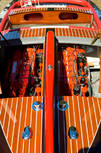 23 ft Ventnor Twin Engine Classic Runabout