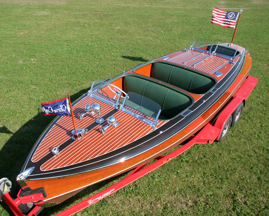 1940 Chris-Craft 23' Custom Runabout