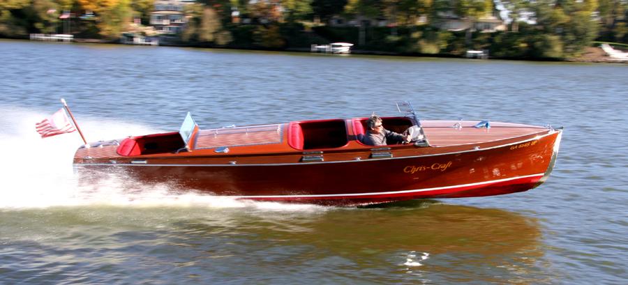 1937 25 39 chris craft triple cockpit runabout for sale