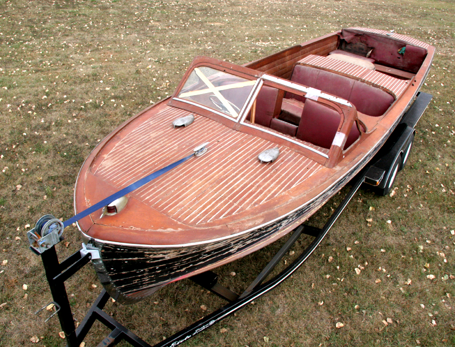 Chris Craft Boat Seat Parts