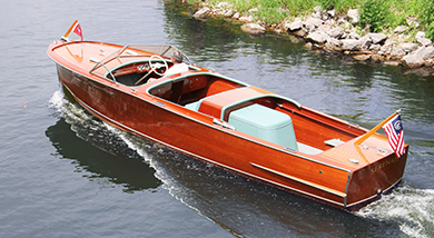 Chris Craft 25 ft Sportsman 1948
