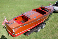 1937 25' Classic Chris Craft Triple Cockpit for sale