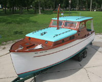 1936 28' Classic Chris Craft Model 557 Cabin Cruiser