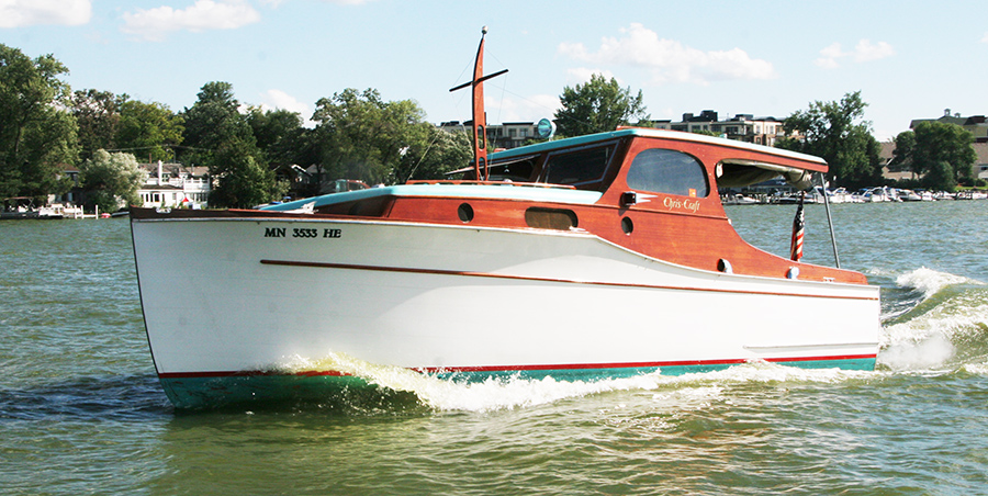 1936 Chris Craft 28 Wooden Cabin Cruiser For Sale