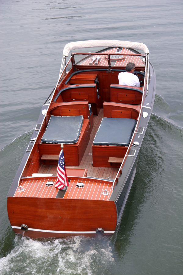 Classic Wooden Boats - Twin Engine