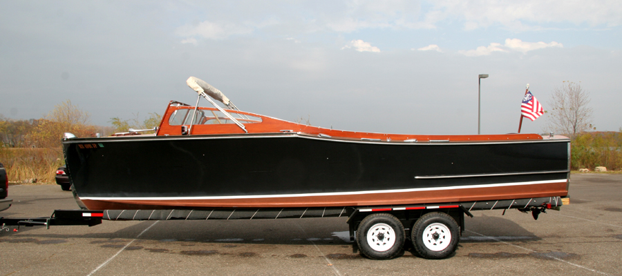 Classic Wooden Boats - 29' Chris Craft Sportsman