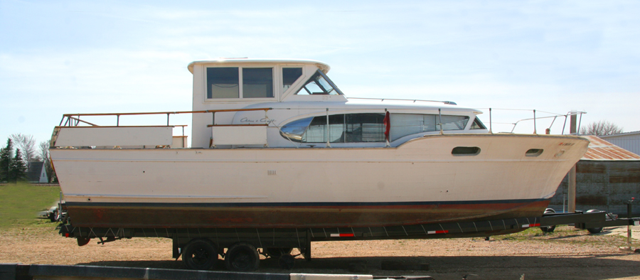 1957 38' Chris Craft Constellation for sale