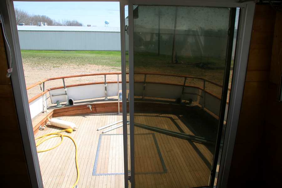 cabin cruiser teak floors