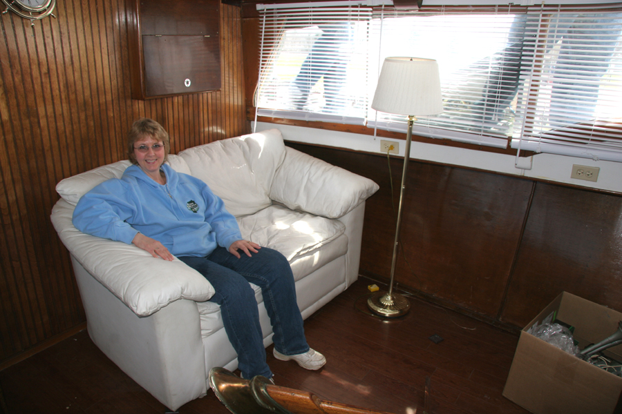 project cabin cruiser teak