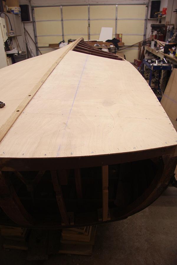 New 3M 5200 Bottom, Plywood Inner Hull