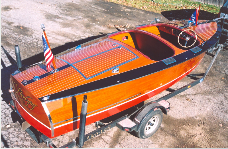 Wooden Boats - 1935 - 1938 Custom Runabout