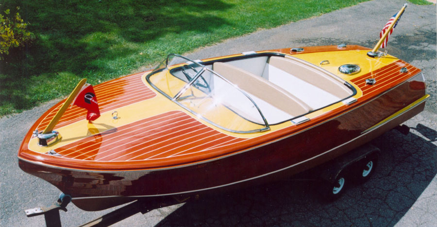 Wooden Boats - Classic Boats Identify Your 1955-1958 19 ft Chris Craft Capri