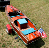 1946 17' Chris Craft Special Runabout