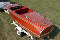 1940 17 ft Chris Craft Barrel Back Custom Runabout for sale