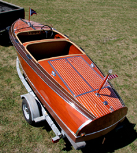 1940 17' Chris Craft Barrel Back Custom Runabout