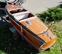 1941 17' Chris Craft Barrel Back Runabout