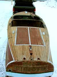 1940 - 1941 17' Chris Craft Barrel Back