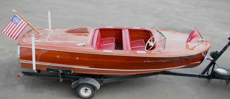 Chris Craft Boats >> Chris Craft 1948 17' Deluxe Runabout classic wooden boat