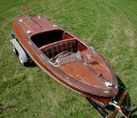 1948 17 ft Chris-Craft Deluxe Runabout