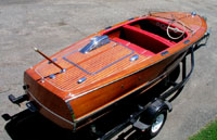 1948 17 ft Chris Craft Deluxe Runabout