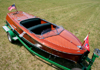 1947 17' Chris Craft Deluxe Runabout for sale
