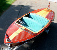 1957 17' Chris Craft 17' Deluxe Runabout - Antique Boats