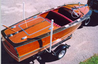 1949 17' Chris Craft Deluxe Runabout Classic Boat