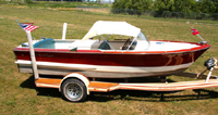 1964 17' Chris Craft Custom Ski Boat