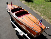 1942 17 ft Chris Craft Special Runabout