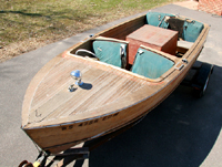 1953 17' Chris Craft Sportsman Utility