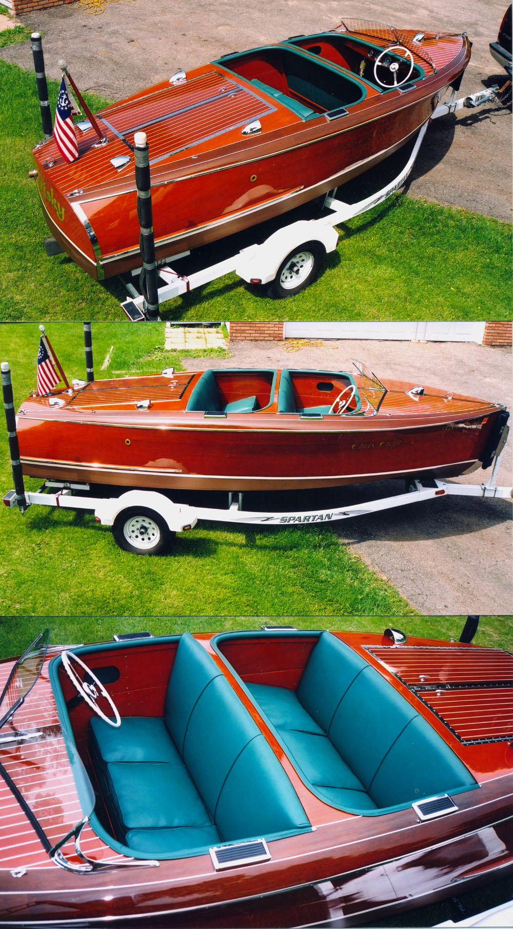 1941 17' chris craft barrel back