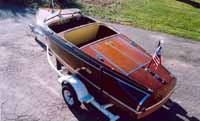 1940 17' Chris Craft Barrel Back