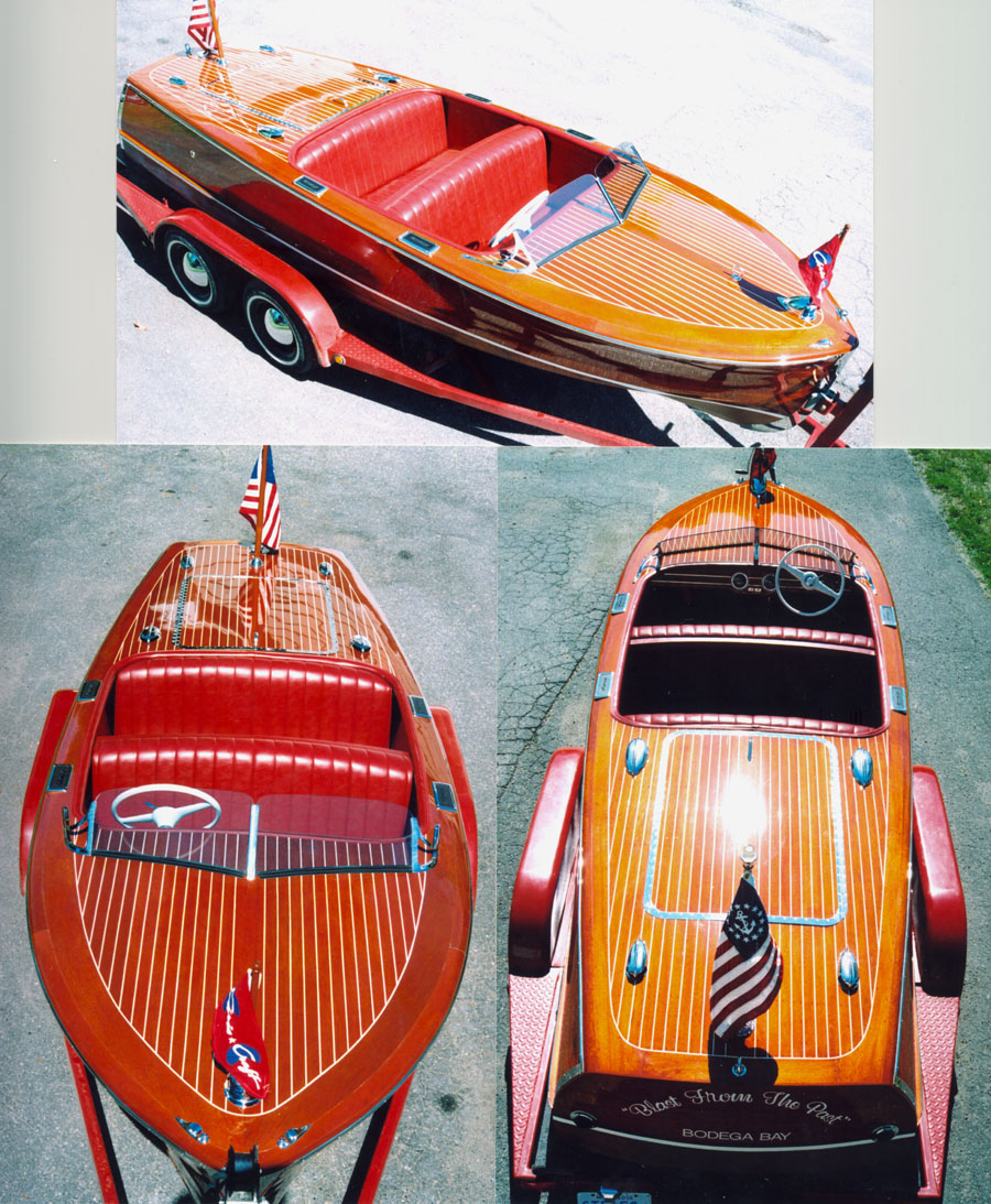 1947 17' chris craft deluxe runabout