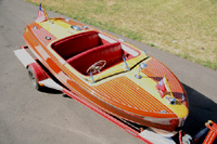 1954 18 ft Chris Craft Riviera